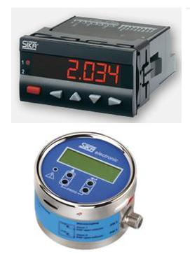Display flow meter SIKA